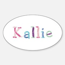 Kallie Princess Balloons Oval Decal