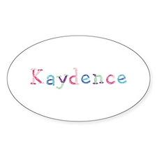 Kaydence Princess Balloons Oval Decal