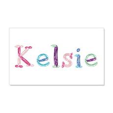Kelsie Princess Balloons 20x12 Wall Peel