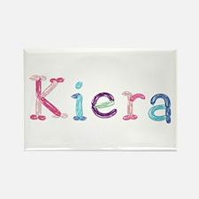 Kiera Princess Balloons Rectangle Magnet