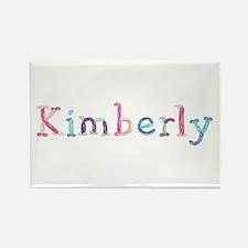 Kimberly Princess Balloons Rectangle Magnet