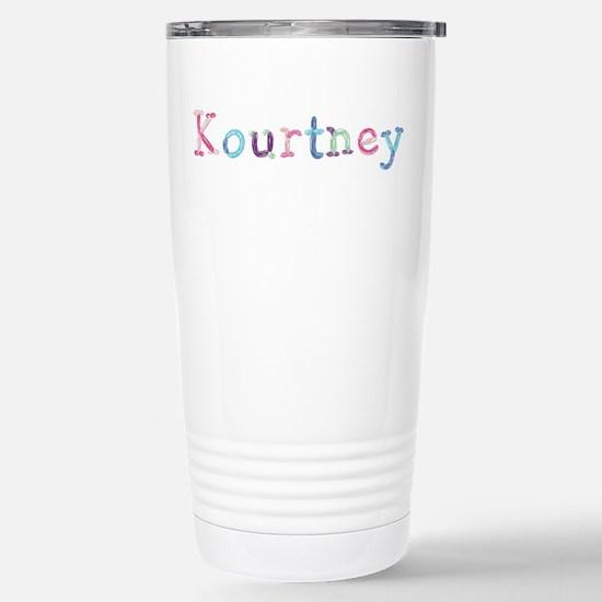 Kourtney Princess Balloons Ceramic Travel Mug