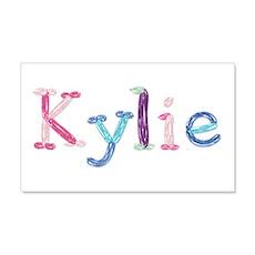 Kylie Princess Balloons 20x12 Wall Peel