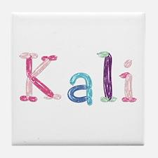 Kali Princess Balloons Tile Coaster