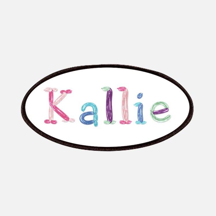 Kallie Princess Balloons Patch