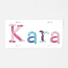 Kara Princess Balloons Aluminum License Plate