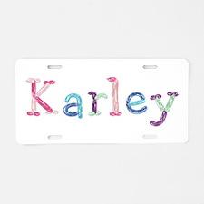 Karley Princess Balloons Aluminum License Plate