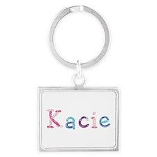 Kacie Princess Balloons Landscape Keychain