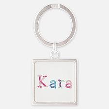 Kara Princess Balloons Square Keychain