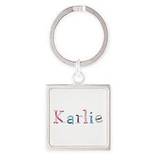 Karlie Princess Balloons Square Keychain