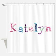 Katelyn Princess Balloons Shower Curtain
