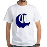 Crip Mens White T-shirts
