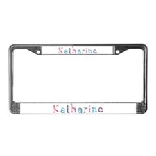 Katharine Princess Balloons License Plate Frame
