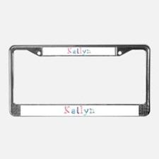 Katlyn Princess Balloons License Plate Frame