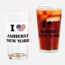 I love Amherst New York Drinking Glass