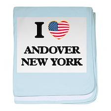 I love Andover New York baby blanket