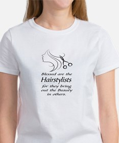 BLESSED ARE THE HAIRSTYLISTS T-Shirt