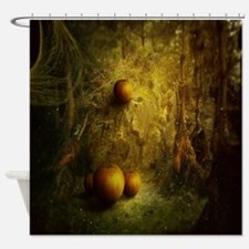 Fantasy Pumpkin Patch Shower Curtain