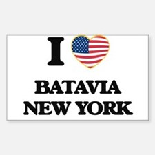 I love Batavia New York Decal