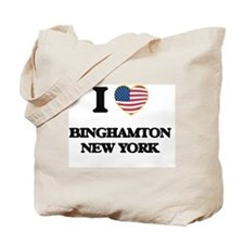 I love Binghamton New York Tote Bag