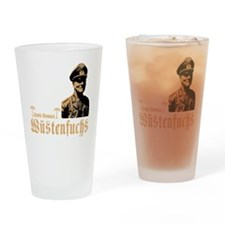 erwin rommel Drinking Glass