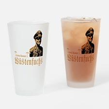 erwin rommel Drinking Glass