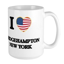 I love Bridgehampton New York Mugs