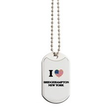 I love Bridgehampton New York Dog Tags