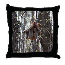 Cute Pretty birds Throw Pillow