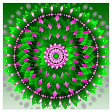 Mandala Abundance Poster