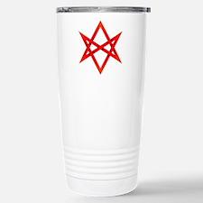 Unicursal hexagram Travel Mug
