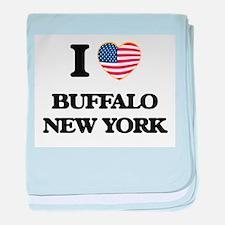 I love Buffalo New York baby blanket