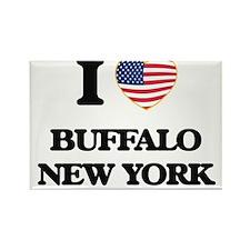 I love Buffalo New York Magnets