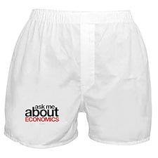 Ask Me About Economics Boxer Shorts
