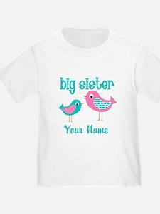 Big Sister Bird Personalized T-Shirt