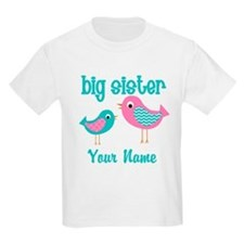 Big Sister Bird Personalized T-Shirt