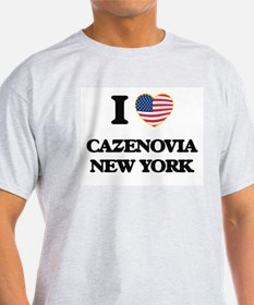 I love Cazenovia New York T-Shirt