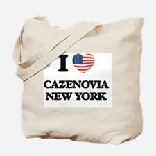 I love Cazenovia New York Tote Bag