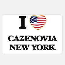 I love Cazenovia New York Postcards (Package of 8)