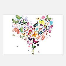 Heart of Butterflies Postcards (Package of 8)