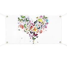 Heart of Butterflies Banner
