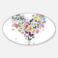 Heart of Butterflies Decal