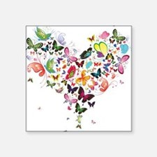 Heart of Butterflies Sticker