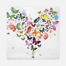 Heart of Butterflies Queen Duvet