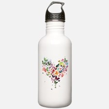 Heart of Butterflies Water Bottle