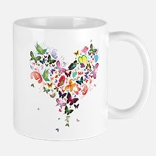 Heart of Butterflies Mugs