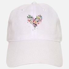 Heart of Butterflies Baseball Cap