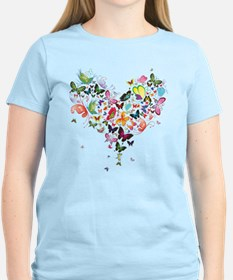 Heart of Butterflies T-Shirt