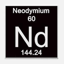 60. Neodymium Tile Coaster