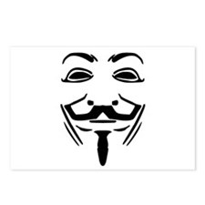 Guy Fawkes Postcards (Package of 8)